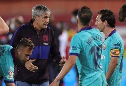 El contenido de la carta del Barça a Setién para no pagarle