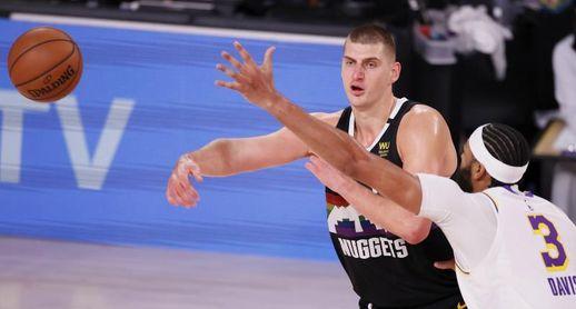126-130. Nikola Jokic vuelve a ser el salvador de Nuggets