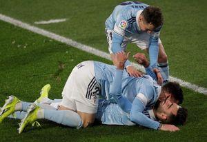 1-1. El Eibar aprovecha un error del Celta para empatar en Balaídos