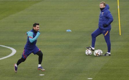 Messi reaparece en Vallecas