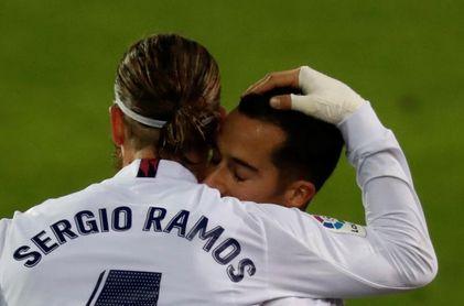 Lucas Vázquez y Ramos trabajan al margen del grupo