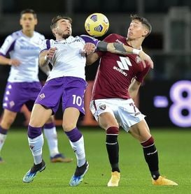 Belotti frustra a Ribery y al Fiorentina, que acabó con nueve