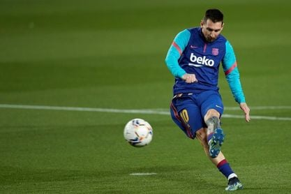 Leo Messi regresa al once titular en Liga