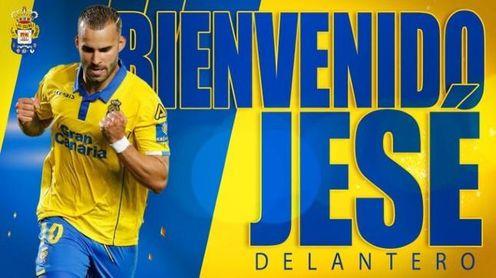 El exverdiblanco Jesé firma por la UD Las Palmas