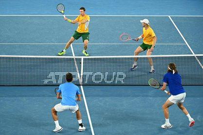 Australia supera a Grecia por 2-1 y acerca a España a semifinales
