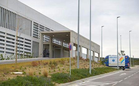 El Hospital de Estepona (Málaga) este martes.