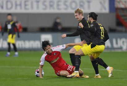 El Friburgo derrota al Borussia Dortmund, agravando su crisis