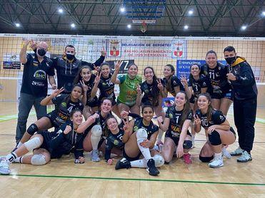 Cajasol 3-2 OSACC Haro Rioja Voley: Vence y convence.