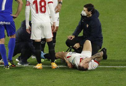 Ocampos ya conoce el alcance de su lesión.