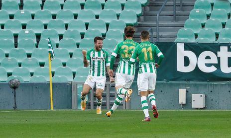 Aitor Ruibal se ha convertido en una pieza clave para Pellegrini en el Betis.