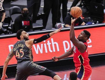129-116. LaVine y Bulls consiguen marcas en triples