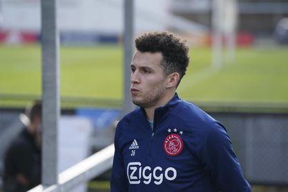 Idrissi vio el triunfo del Ajax en la Copa desde el banquillo.