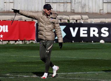 """Simeone: """"Jugar donde sea, a la hora y el día que sea, no hay problema"""""""