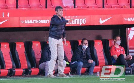 """Pacheta: """"El portero rival ha sido el mejor del partido""""."""