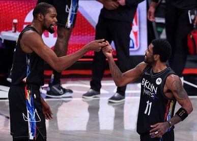 117-134. Irving y Durant dirigen la victoria de Nets sobre los Warriors