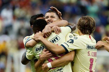 El América de Solari vence al Querétaro y salta al primer lugar del torneo de fútbol en México