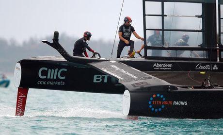 """Ben Ainslie: """"No podemos estar contentos; podemos navegar mucho mejor"""""""