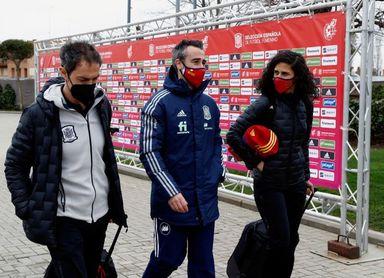 La selección española inicia su concentración en Las Rozas