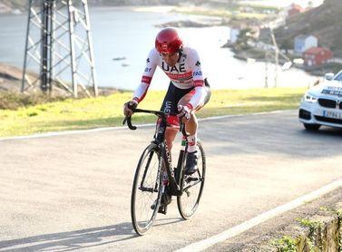 David de la Cruz líder del UAE Emirates para el Tour de los Alpes