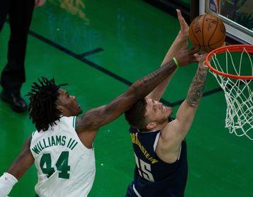 112-99. Los Celtics anulan los 43 puntos de Jokic; Campazzo debuta de titular