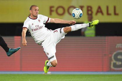 El internacional italiano Luca Antonelli, nuevo fichaje del Miami FC