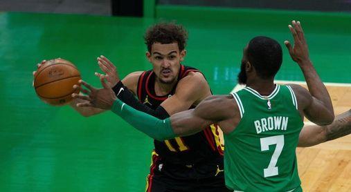 114-122. Young anota 40 puntos y Hawks detienen la mala racha a costa de los Celtics