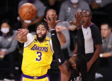 Anthony Davis se perderá 4 semanas con los Lakers por una lesión en un gemelo