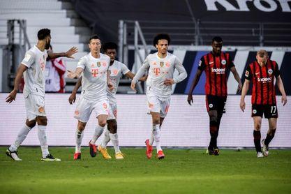 El Eintracht reanima la Bundesliga