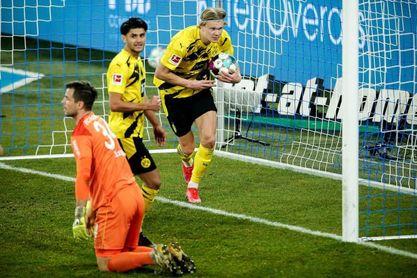 Haaland sigue pletórico, doblete en la goleada del Dortmund