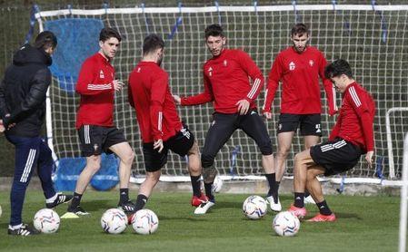 Cuatro bajas y una duda para Arrasate ante el Sevilla.
