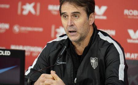 "Lopetegui: ""No he visto el gol de Haaland, lo único que me interesa es Osasuna""."