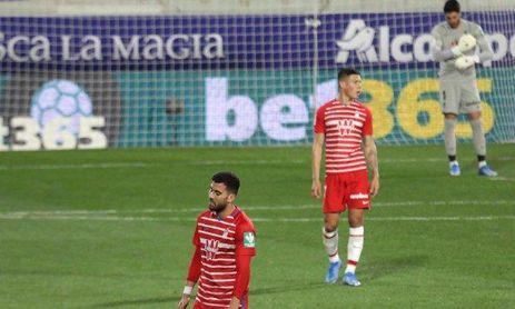 La mala tarde de Rui Silva en Huesca