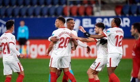 Osasuna-Sevilla F.C.: Respuesta de Champions para asaltar el podio (0-2)