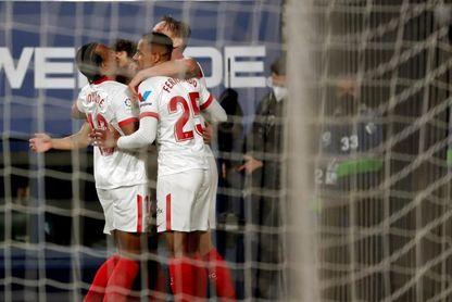 0-2. El Sevilla se apunta a la Liga