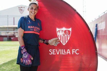 """Noelia Ramos: """"Para mí el Sevilla es un sentimiento"""""""