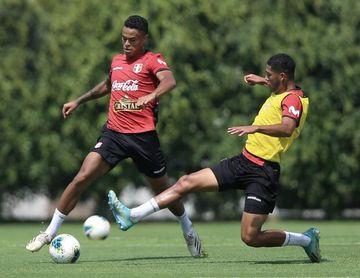 Perú cierra sus primeros entrenamientos con empate ante su selección sub'20