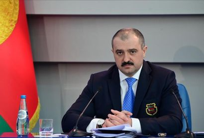 Un hijo de Lukashenko le sustituye al frente del Comité Olímpico Bielorruso