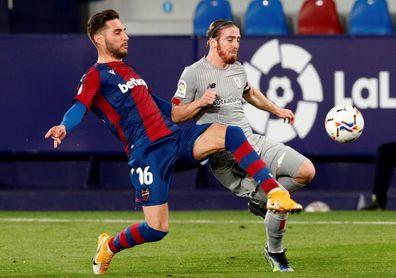 1-1. Levante y Athletic firman tablas a la espera del vital duelo copero