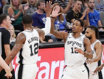 117-114. DeRozan y los Spurs vuelven a casa y ganan; Willy, 12 puntos