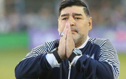 El exbético que aún no ha aceptado la muerte de Maradona