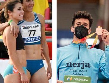 Maribel Pérez y Gonzalo García, en la cumbre preolímpica europea de Torun