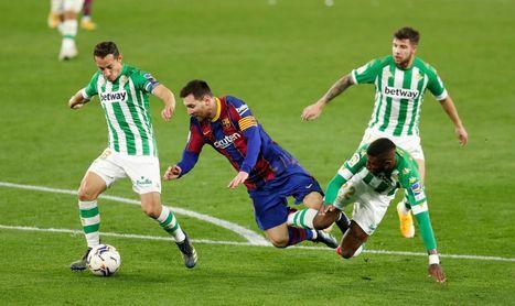 Motivos de peso para que el Betis vaya con el Barcelona en la Copa