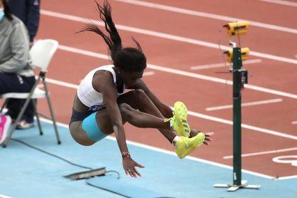 Diame se mete en la final de longitud con récord personal (6,62)
