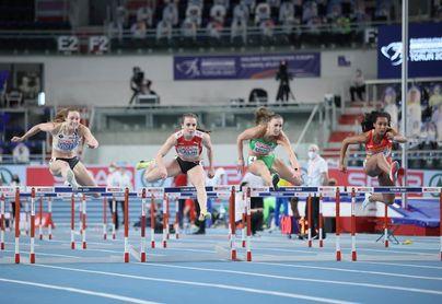 María Vicente camino de un nuevo récord de España de pentatlón