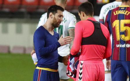 Edgar Badía, el Sevilla y la camiseta con Messi