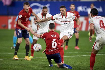 El Sevilla FC trabaja en la continuidad de Diego Carlos