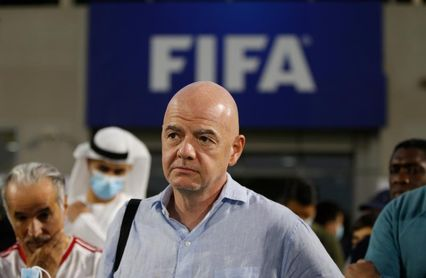 """Infantino: """"La nueva FIFA no deja sitio para el delito"""""""