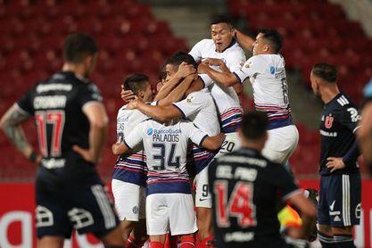 1-1. San Lorenzo araña un punto clave en la cancha del Universidad de Chile