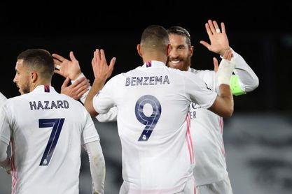 Hazard y Ramos aumentan ritmo; Mariano trabaja sobre el césped