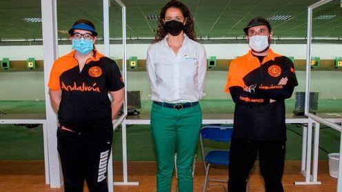 La Instalación de Tiro Olímpico de Camas acogió el Campeonato de Andalucía de aire comprimido y equipos mixtos 10 metros